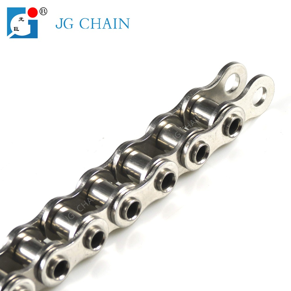Standard industrial transmission roller chain 304 stainless steel hollow pin chains
