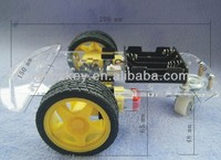 Smart Car Chassis Tracing Car With Belt Encoder And Strong Magneto For Arduino