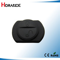 2 button remote key rubber pad For Mitsubishi Colt Warior Carisma Spacestar key shell