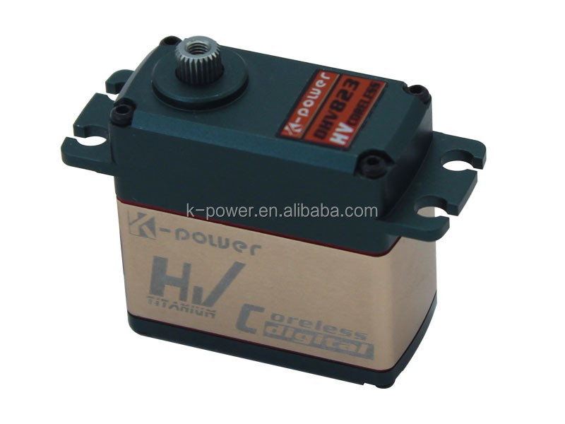 DHV823 Aluminum case Standard RC Buggy Car Servo/1 10 rc car steering servo/Waterproof RC Servo