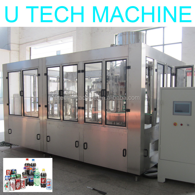 Balanced Pressure Orange Soda Washing/Filling/Capping Machine/Plant