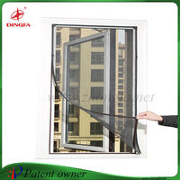 Creative dust proof window screen with magnetic frame