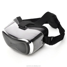2016 New design Comfortable Black virtual reality ABS 3d vr glasses