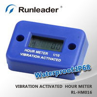 Digital vibration hour meter for Motorcycle,dirt bike,transfer pump,mower,work on any device