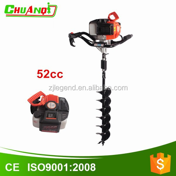 Professional post hole digger ground earth drill