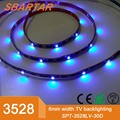 USB LED Strip Light TV Background Lighting SMD3528 DC 5V Flexible LED Tape 50CM 1M 2M 3M 4M 5M DIY Decorative Strip