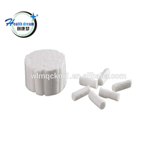 high density prefersable price cotton roll fnice quality medical cotton roll for dentist