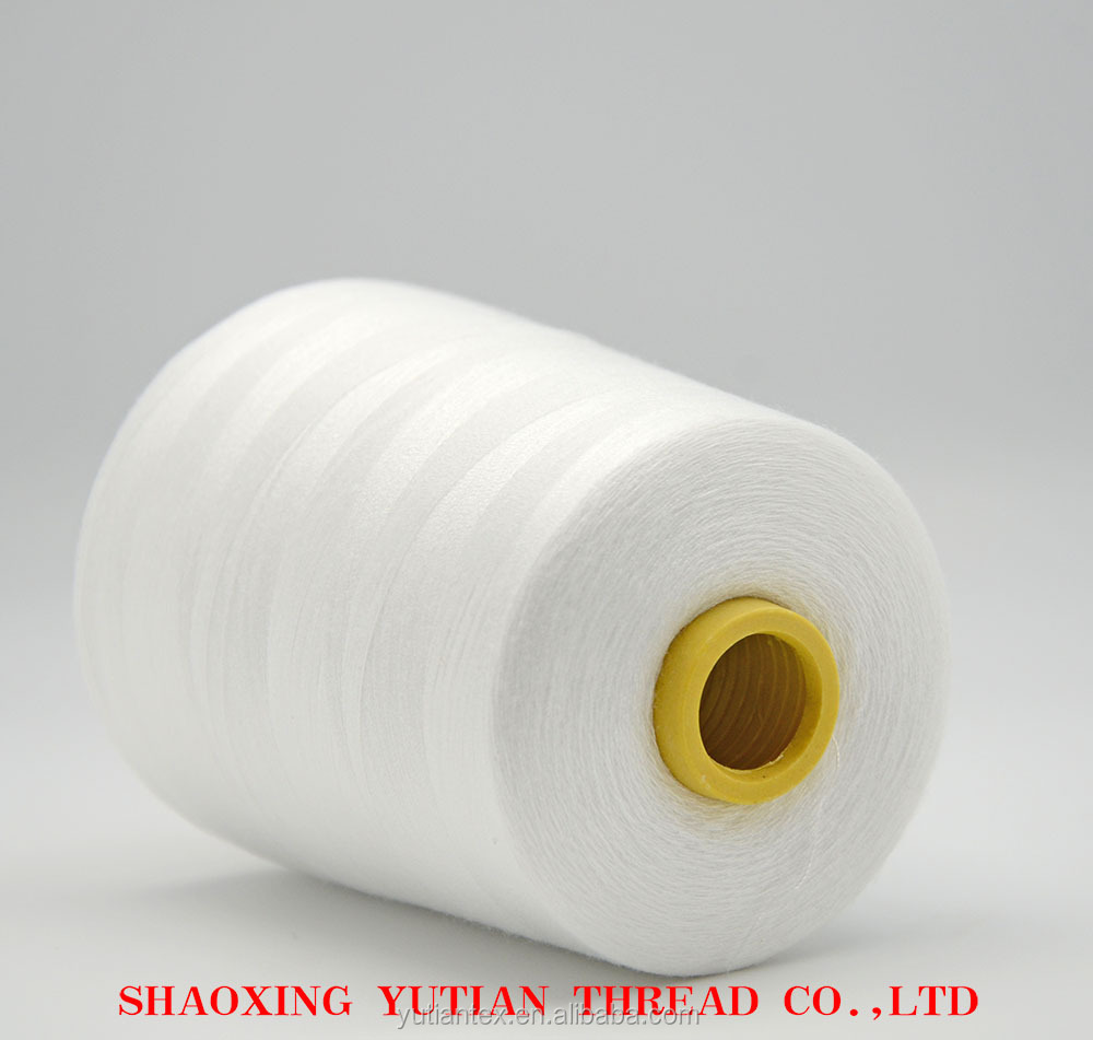Good quality hand knitting yarn used plastic cone bobbin to sewing lv bags