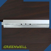 Suspended ceiling grid components galvanized t bar steel