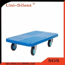 250kg High Quality Moving Pallet dolly Plastic Dollies with Wheels PLA250Y-DL