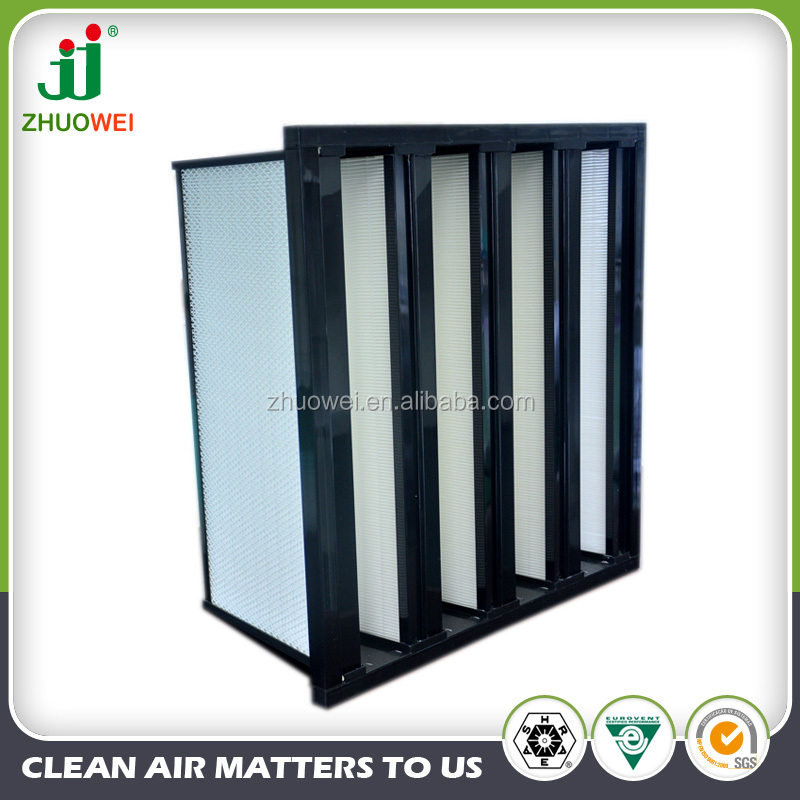 Long service life and Large filtering area FV Combined Sub-HEPA Air Filter