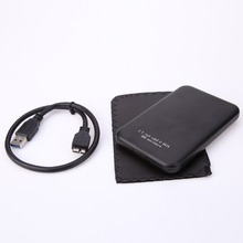 High Speed 2.5 Inch Aluminium USB 3.0 USB3.0 to SATA External HDD HD Hard Disk Drive Enclosure Case Cover Box Bag