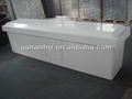 White dock box, FRP storage box durable fiberglass