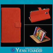 New years gifts promotional flip stand leather case cover for samsung note 3