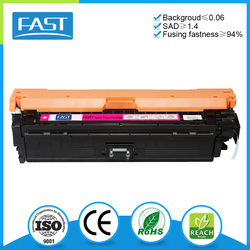 Compatible for HP Color LaserJet CP5525 series laser toner cartridge china supplier zhuhai