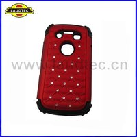 2 in 1,Silicone +Plastic Case for Blackberry Bellagio 9790 ,Starry Sky Pattern design,New arrival----Laudtec