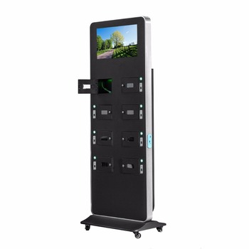 "21.5"" Commercial Kiosk Mobile Phone Charging Station"
