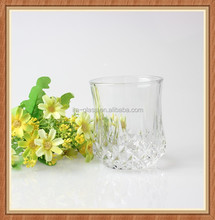 Unique customer creative design China manufacturer handmade 200ml clear borosilicate glass beer coffee tea water drinking cup