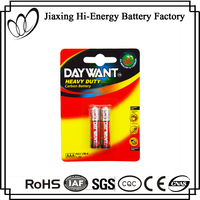 High Energy Dry AAA R03 1.5V Digital Camera Battery