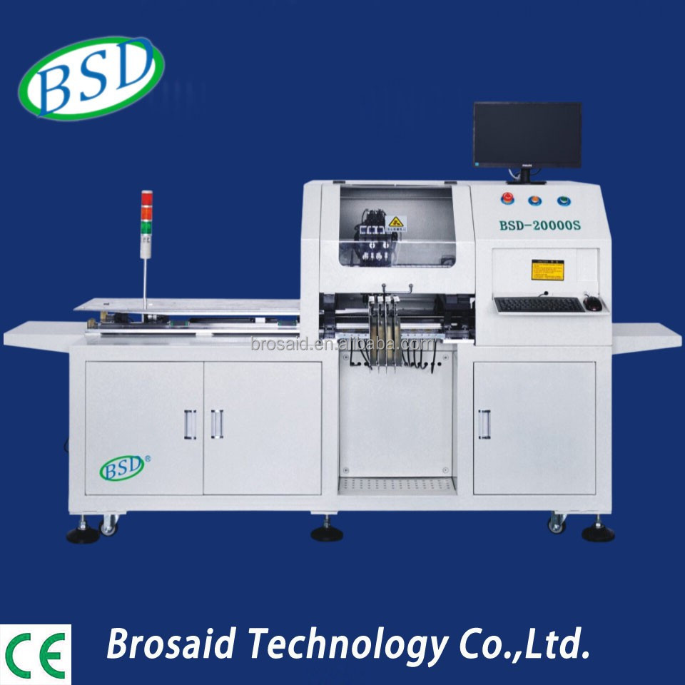 Automatic 4 heads smt led making machine with lead screw transmission of BSD-20000S