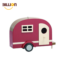 Chinese Supplier Iron Art Crafts Happy Camper Model, Personalized Car Hanging Ornament