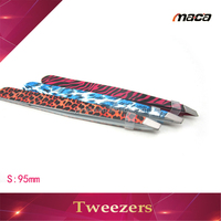 TW1248 professional popular custom all stainless steel series handy tweezer color