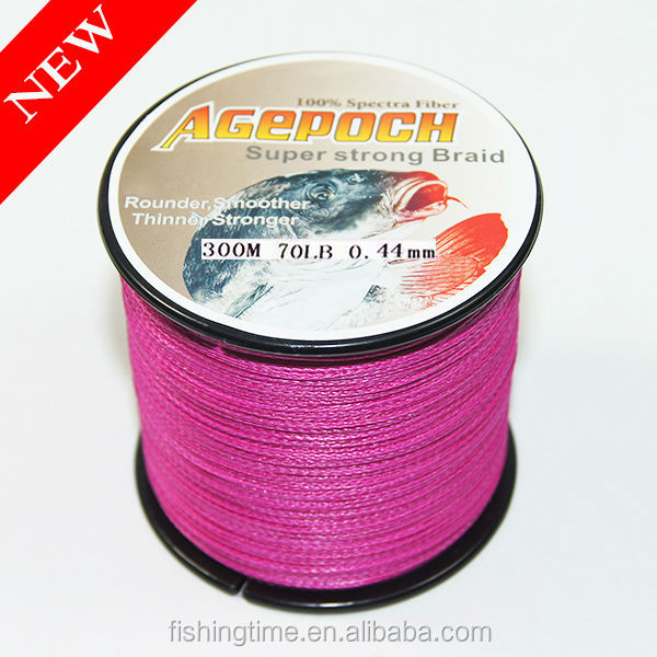 4/8 braid PE orange Color 300m 70lb/ 100-2000m 10-100lb Braid Fishing Line 100m/300m/500m/1000m