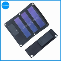 Amorphous foldable solar power battery charger case