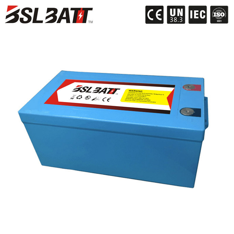 solar storage li ion 24 volt lithium ion lifepo4 UPS 24v 200ah deep cycle solar battery