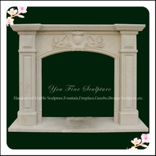 Sandstone Fireplace Mantel, Indoor Used Fireplace Mantel