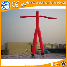 Two legs inflatable desktop air dancers inflatable wave man/air dancer blowers