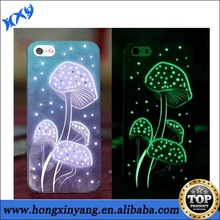 beautiful custom design Glow Phone Case for Iphone 4 5 5S 5C