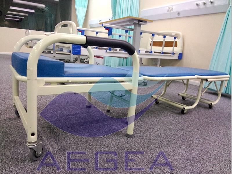 AG-AC001 con marco de metal plegable colchón suave acompañar silla ...