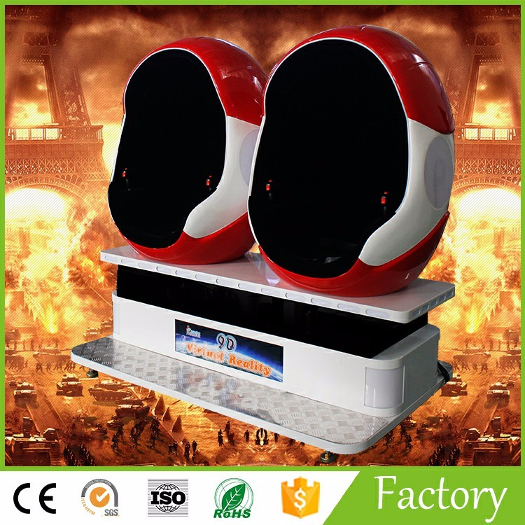 Hot Sale Amusement Machine 9D VR in India small investment big profit project for Game center and Shopping mall for sale