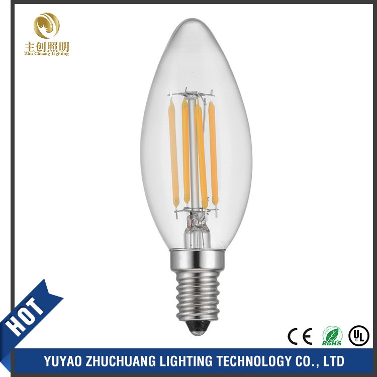 AC110V 220V 240V Dimmable Edison Bulb Spotlight Chandelier E27 E14 Led Filament Bulb Lampada Led Lamp Candle Christmas Light