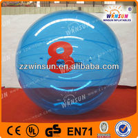 blue bubble ball with numbers,inflatable water balls blue,water walking balls prices