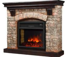 Indoor Used Cheap Imitation Stone-like Decoratice Electric Fireplace