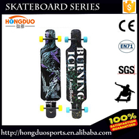 Best price longboard with big wheel fish skateboard for sale