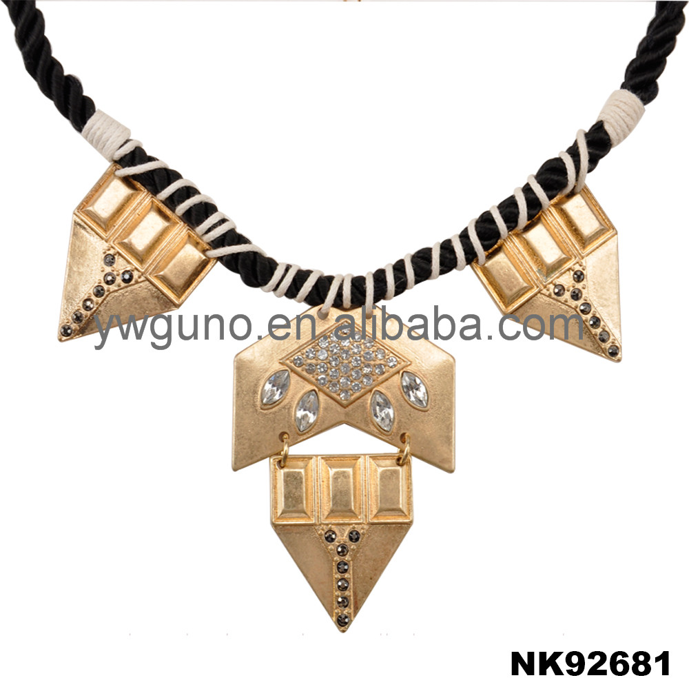 Egypt wholesale jewelry gold pendant chunky necklace