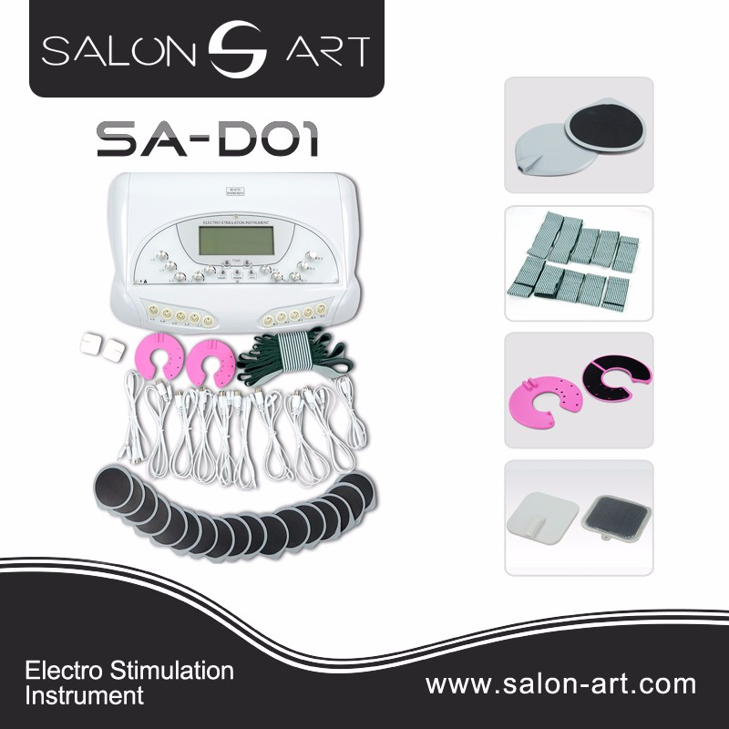 SA-D01 Best body ems body slimming breast stimulation beauty machine with electro stimulation