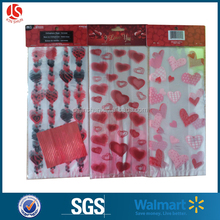 Romantic Valentine's Day Candy Packing OPP Plastic Candy Pouch