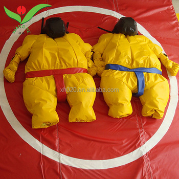 Funny durable pvc costume Inflatable Fighting Games sumo wrestling game inflatable
