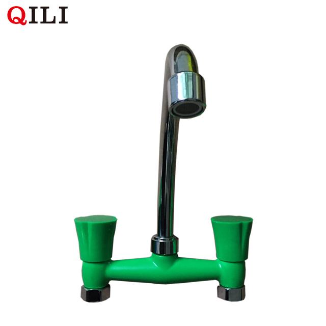 DT-G2044 kitchen chrome plating plastic valve water tap