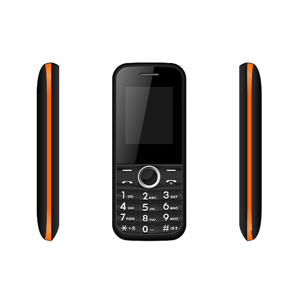 Cheap 32MB+32MB 1.77inch Dual Sim BL-5C Big Battery GSM Feature Cell Mobile Phone A1701