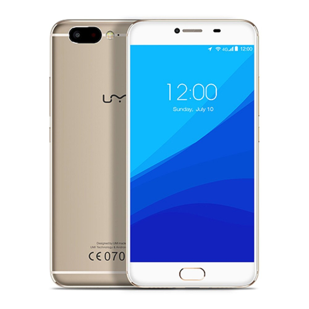 International Version Cell Phone Mobile Smartphone Umi Z Android 6.0 MTK Helio X27 5.5 inch 13MP Mobile Phone