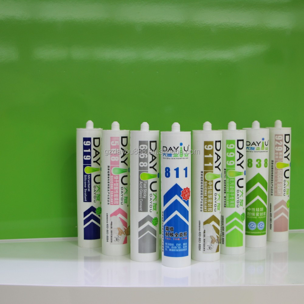JY920 china silicone manufacturer fast dry glue is cheap joint sealant price