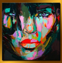 Handmade pop art paintings, canvas oil painting