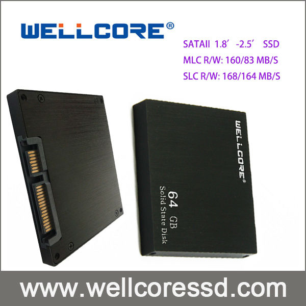 "2.5"" IDE PATA SSD MLC 64GB Solid State Hard Drive For Laptop Notebook"