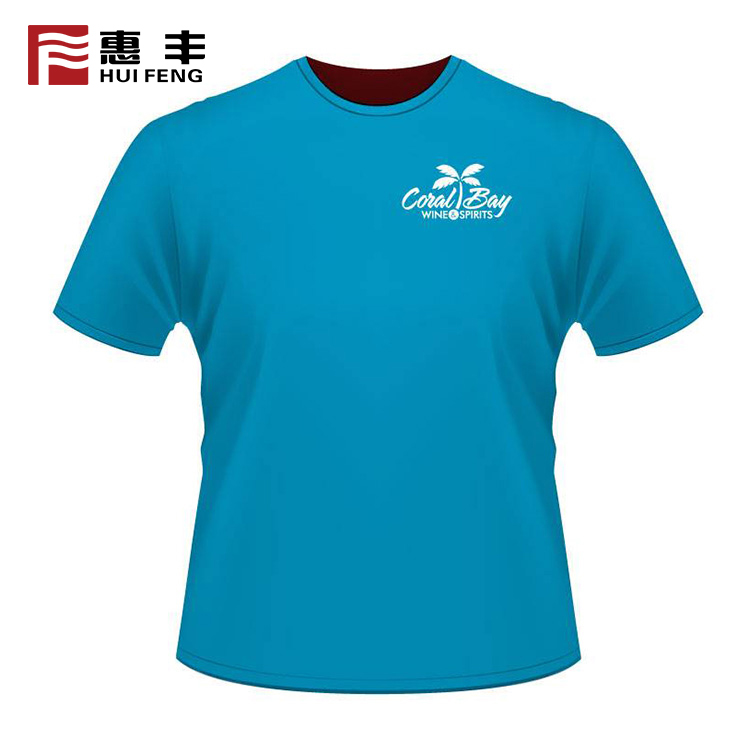 Adult High Quality Plain Custom 100% Polyester T Shirt Silk Screen Printing , Custom T Shirts Your Own Brand