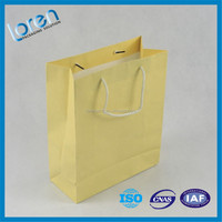 paper shopping bags foldable with cotton handles,Custom wholesale Cheap Gift Paper Bag